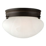 Millbridge 1-Light Ceiling Light, Oil Rubbed Bronze #514547