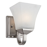 Torino 1-Light Wall Light, Satin Nickel #514745