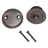 Lift & Turn Bath Drain Kit, Brushed Bronze #522359