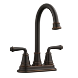 Eden 2-Handle Bar Faucet for Kitchen Sink, 2.1 GPM, Oil Rubbed Bronze Finish #524777