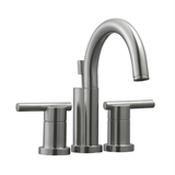 Geneva Centerset Bathroom Faucet, Satin Nickel #525758
