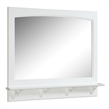 "Concord Mirror 37.8"" Fully Assembled, White Gloss Finish #539940"