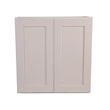 "Brookings Unassembled Shaker Kitchen Wall Cabinet 27x36x12"", White #543140"