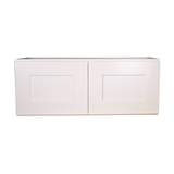 "Brookings Unassembled Shaker Kitchen Wall Cabinet 33x18x12"", White #543298"