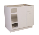 "Brookings 36"" Blind Base Cabinet, White Shaker #561522"