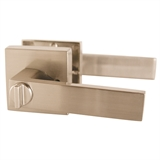 Karsen Bed and Bath Lever, Satin Nickel #581116