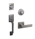 Moderno 2-Way Adjustable Karsen Handlset, Satin Nickel #581959