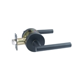Eastport Passage Hall/Closet Door Lever in Matte Black #582627