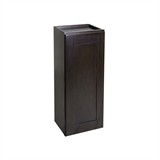 Assembled 9x36x12 in. Brookings Shaker Style 1-Door Wall Cabinet in Espresso #586495