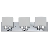 Dove Creek 3-Light Polished Chrome Bath Light #587469