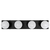 4-Light Vanity Light in Matte Black #588574-BLK