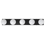 5-Light Vanity Light in Matte Black #588582-BLK