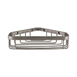 6 inch Corner Shower Basket in Stainless Steel #588939-SS