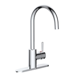 Eastport Single-Handle Kitchen Faucet in Polished Chrome #595660