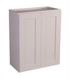 "Brookings 24"" Fully Assembled Kitchen Wall Cabinet, White Shaker #613372"