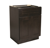 "Brookings 21"" Fully Assembled Kitchen Base Cabinet, Espresso Shaker #613638"