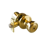 Plaza 6-Way Universal Entry Knob, Polished Brass #699504