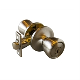 Plaza 6-Way Universal Entry Knob, Satin Nickel #699520