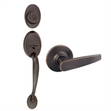 Coventry 2-Way Latch Entry Door Handle Set, Oil Rubbed Bronze #702050