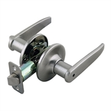 Delavan 2-Way Adjustable Privacy Door Handle, Satin Nickel #702084