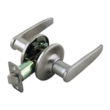 Delavan 2-Way Adjustable Passage Door Handle, Satin Nickel #702092