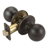 Pro Ball Hall and Closet Door Knob, Oil Rubbed Bronze #750661