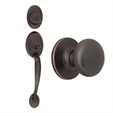 Coventry 2-Way Latch Entry Door Handle Set, Oil Rubbed Bronze #753566