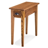 Bin pull narrow side table #9010
