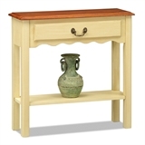Wave Console Table #9021-IV