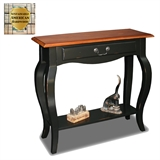 Console table-Brown Cherry #9022-BR/SL