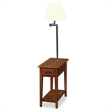 Chair Side lamp table #9037-MED