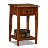 Square Side Table-Medium finish #9041-MED