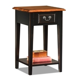 Square Side Table-Slate finish #9041-SL
