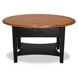 Oval coffee table #9044-SL